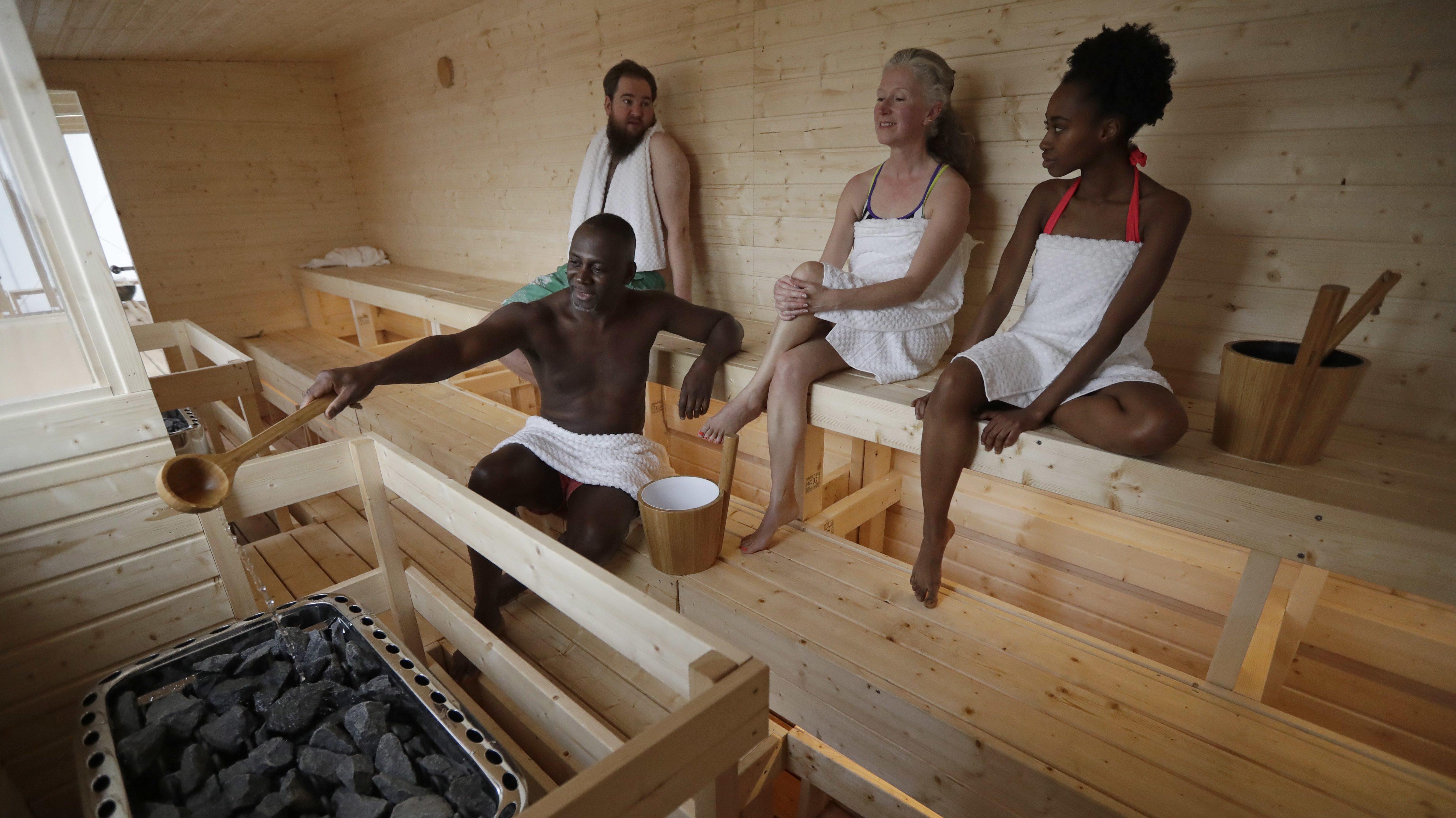 are saunas good for you   u2014 quartz