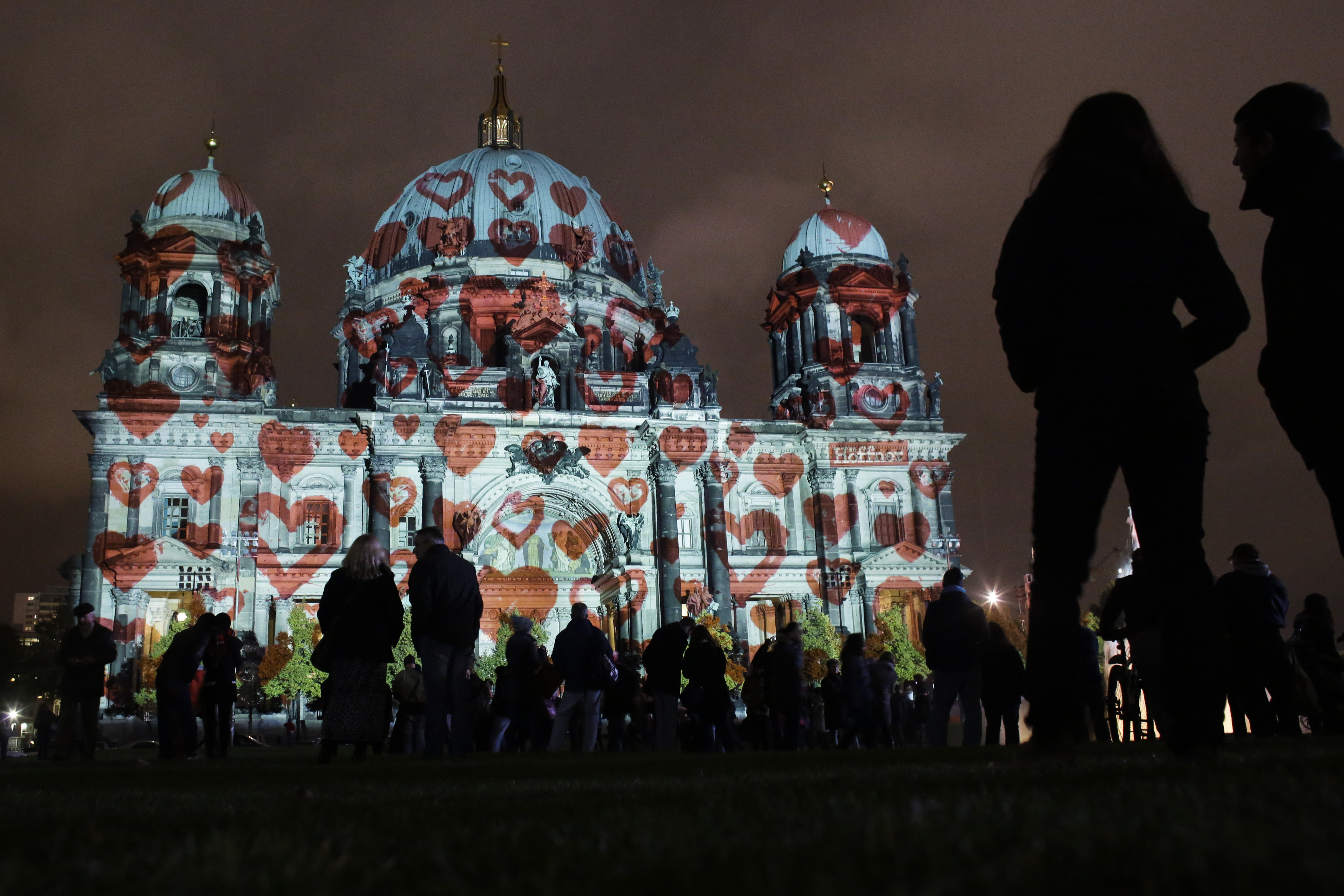 'Festival of Lights' in in Berlin, Germany, Saturday, Oct. 17, 2015.