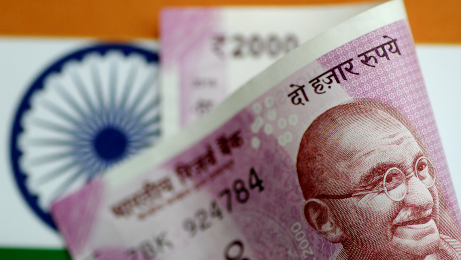 FILE PHOTO - Illustration photo of an India rupee note