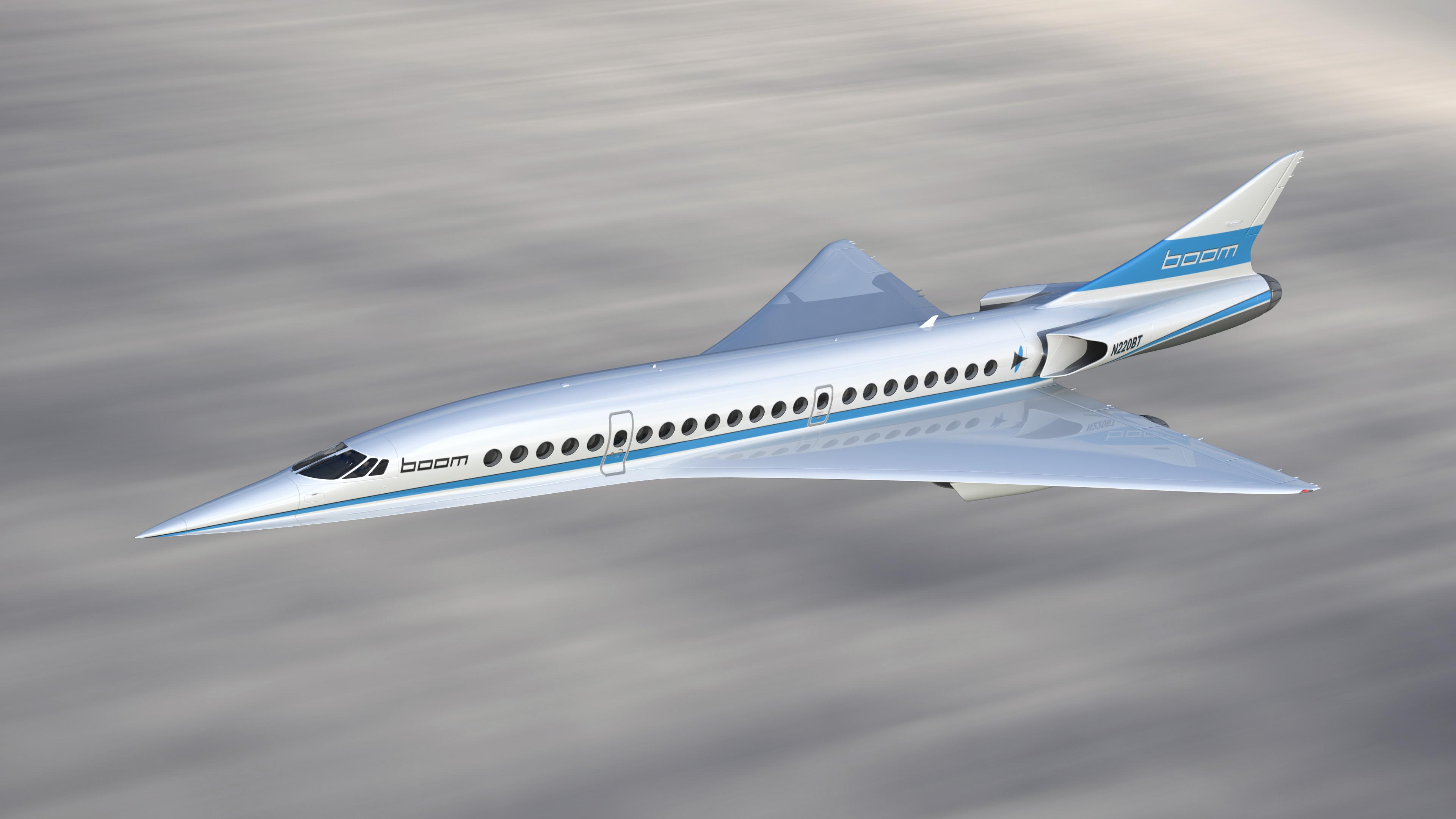 Boom XB-1 supersonic plane