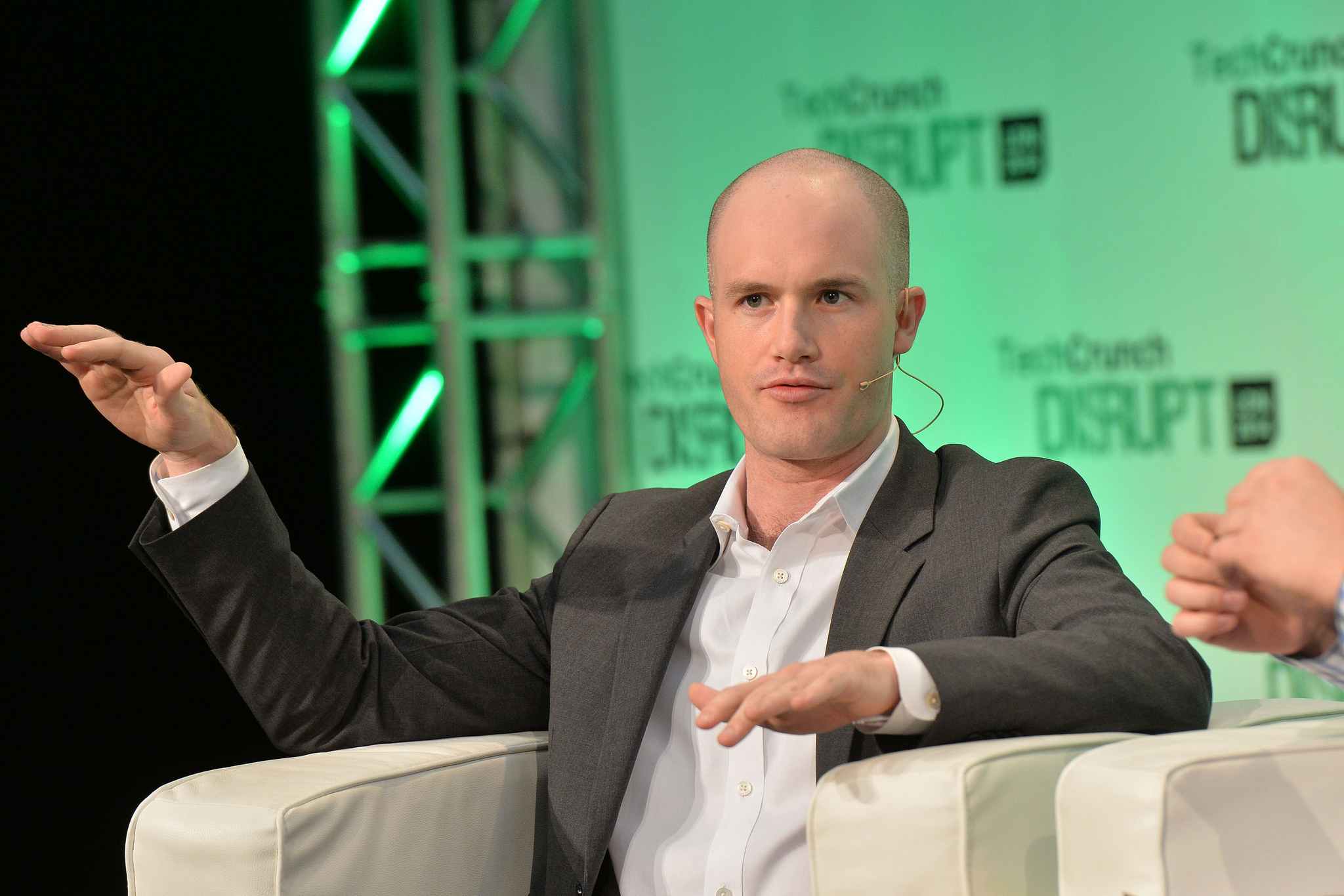 Coinbase co-founder and CEO Brian Armstrong in 2014