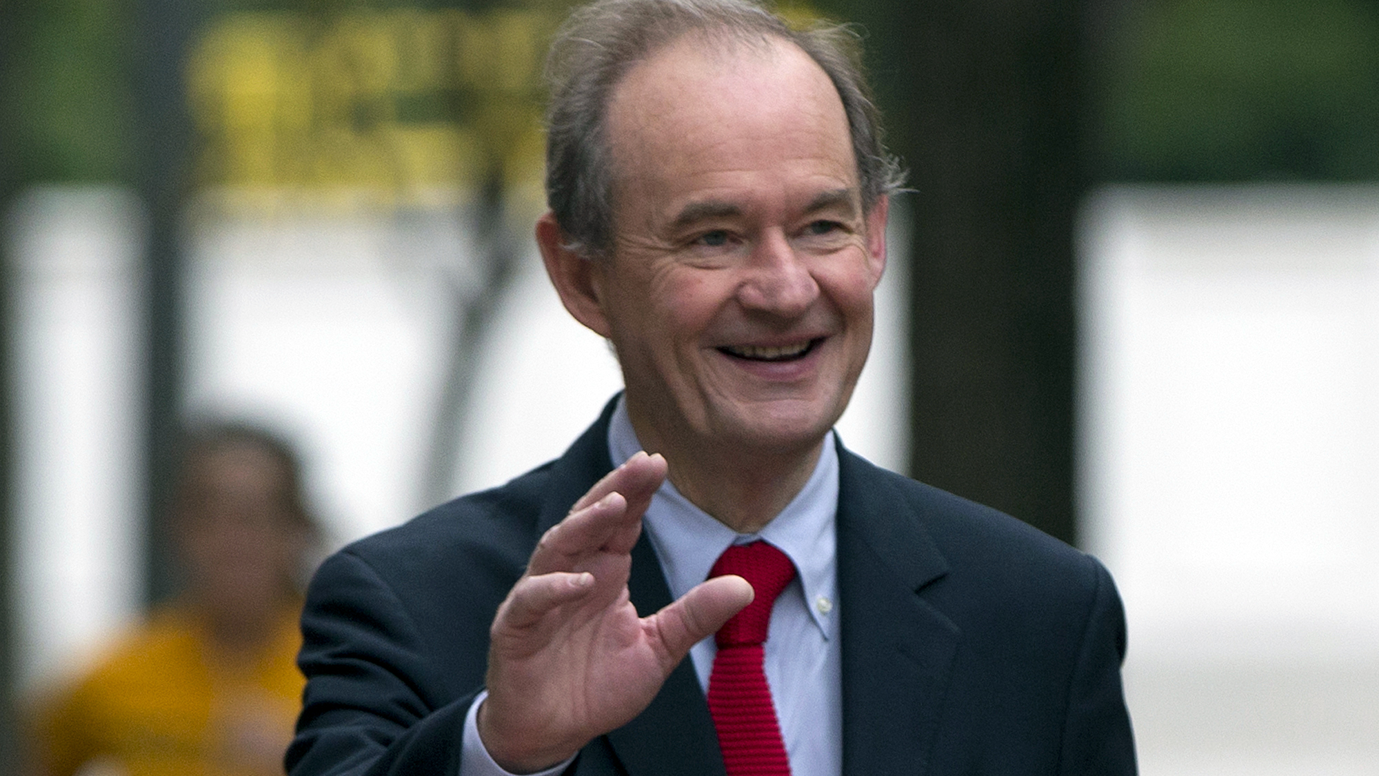 """FILE - In this Oct. 10, 2014 file photo, attorney David Boies is seen in Washington. Lawyers representing Sony Pictures Entertainment are threatening news organizations not to publish details of company files leaked by hackers in recent days, following one of the largest digital breaches ever against an American company. Boies, a prominent lawyer hired by the company, demanded Sunday that Sony's """"stolen information"""" _ publicly available on the Internet by the gigabytes _ should be returned immediately because it contains privileged, private information."""
