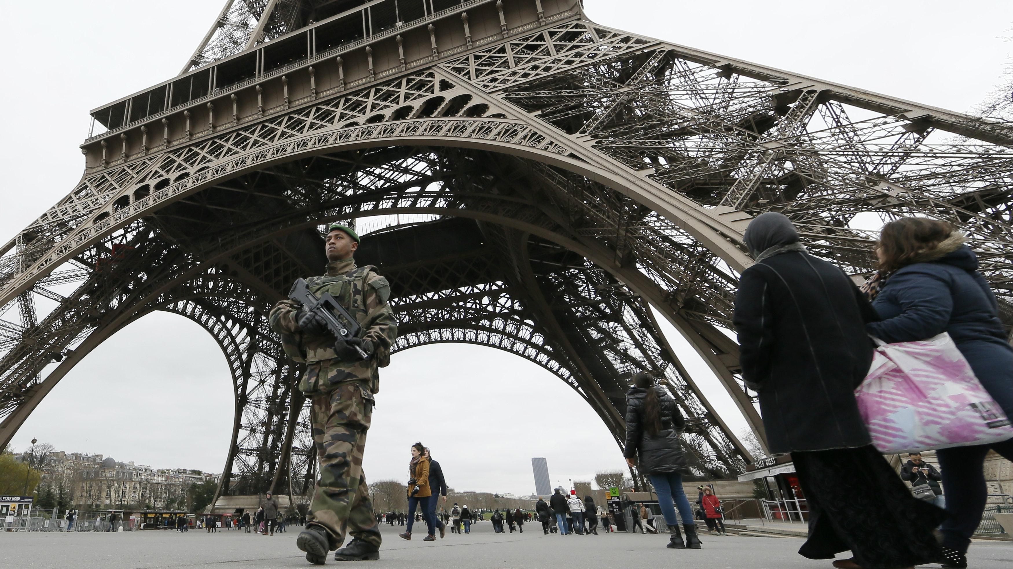 Eiffel Tower terrorism