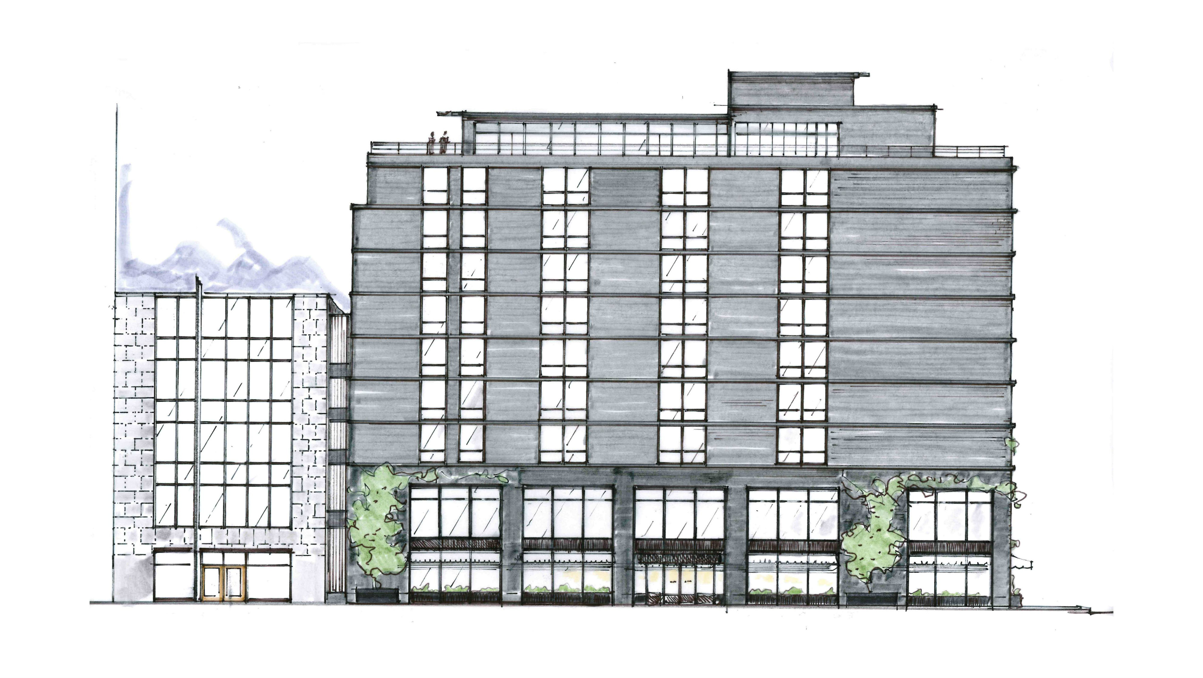 Exterior of Eaton DC Hotel and House _Credit-Gachot Studios
