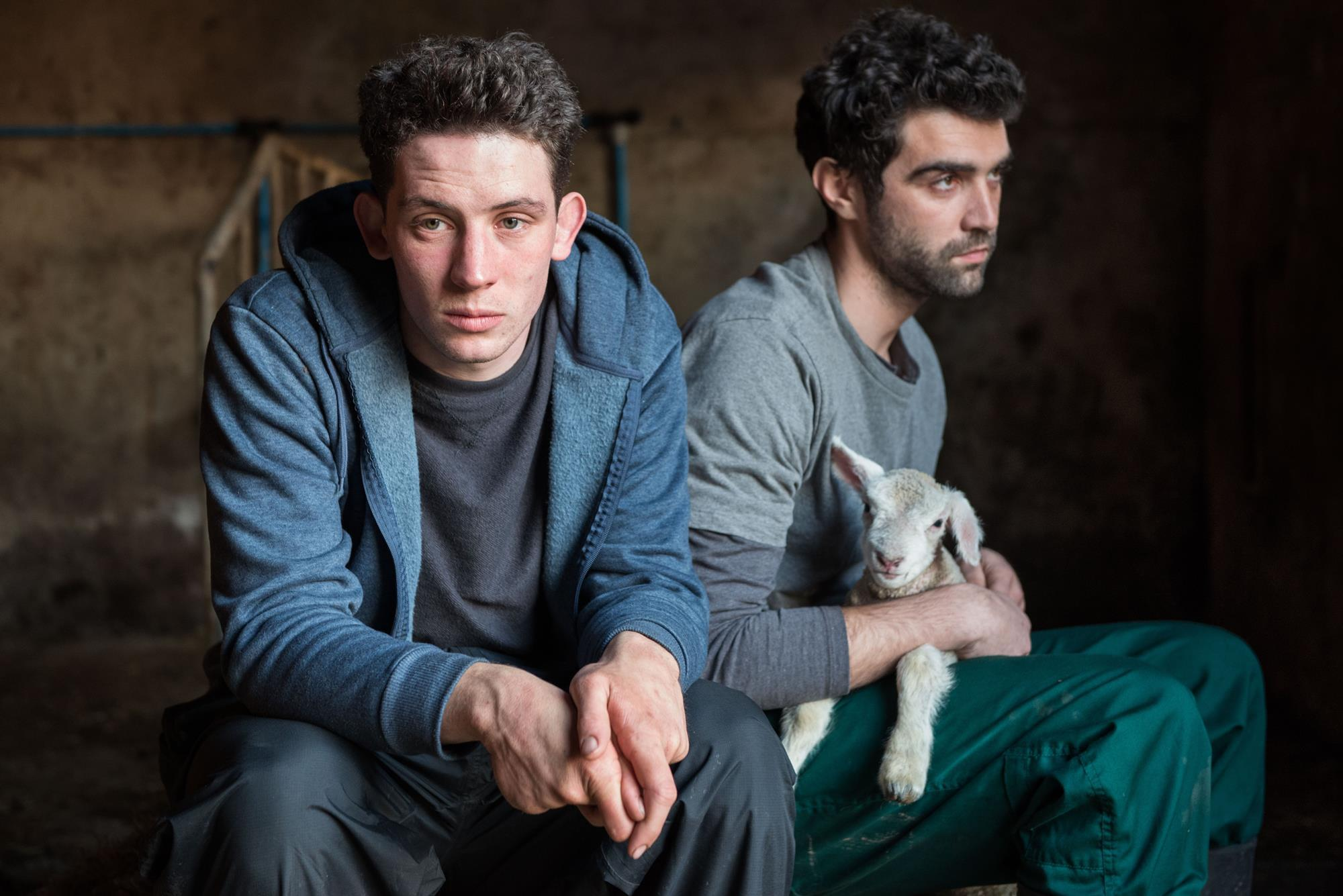 """Promotional still for Francis Lee's British film """"God's Own Country"""""""
