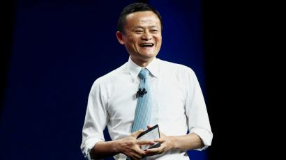 Jack Ma, Chairman of Alibaba Group, speaks at the Alibaba Gateway Conference in Toronto, Ontario, Canada