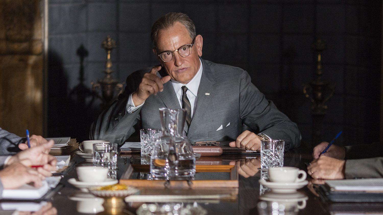 Woody Harrelson as Lyndon Baines Johnson