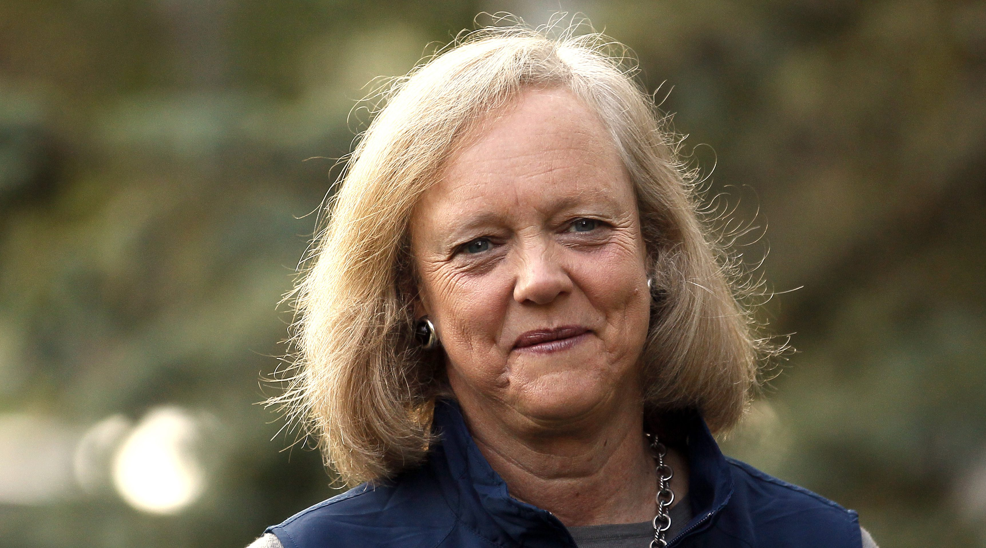 Meg Whitman, CEO of HPE, is stepping down.