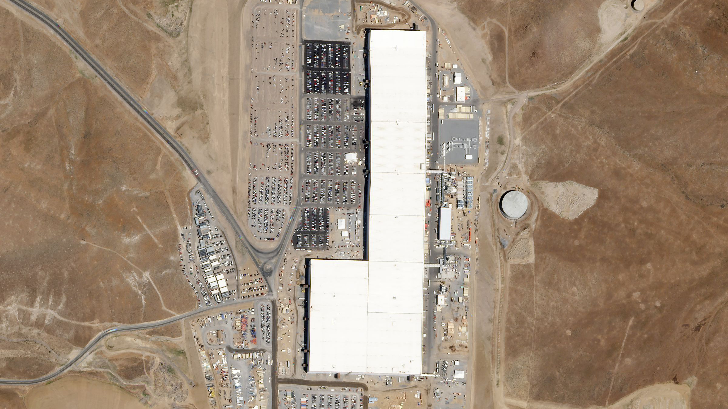 Tesla investors could track daily activity at Elon Musk's Nevada Gigafactory.