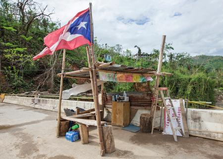 campground of the forgotten in utuado puerto rico after maria