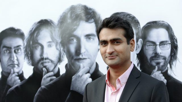 """Cast member Nanjiani attends the Los Angeles premiere for the new HBO comedy series """"Silicon Valley"""" at Paramount Studios in Hollywood"""