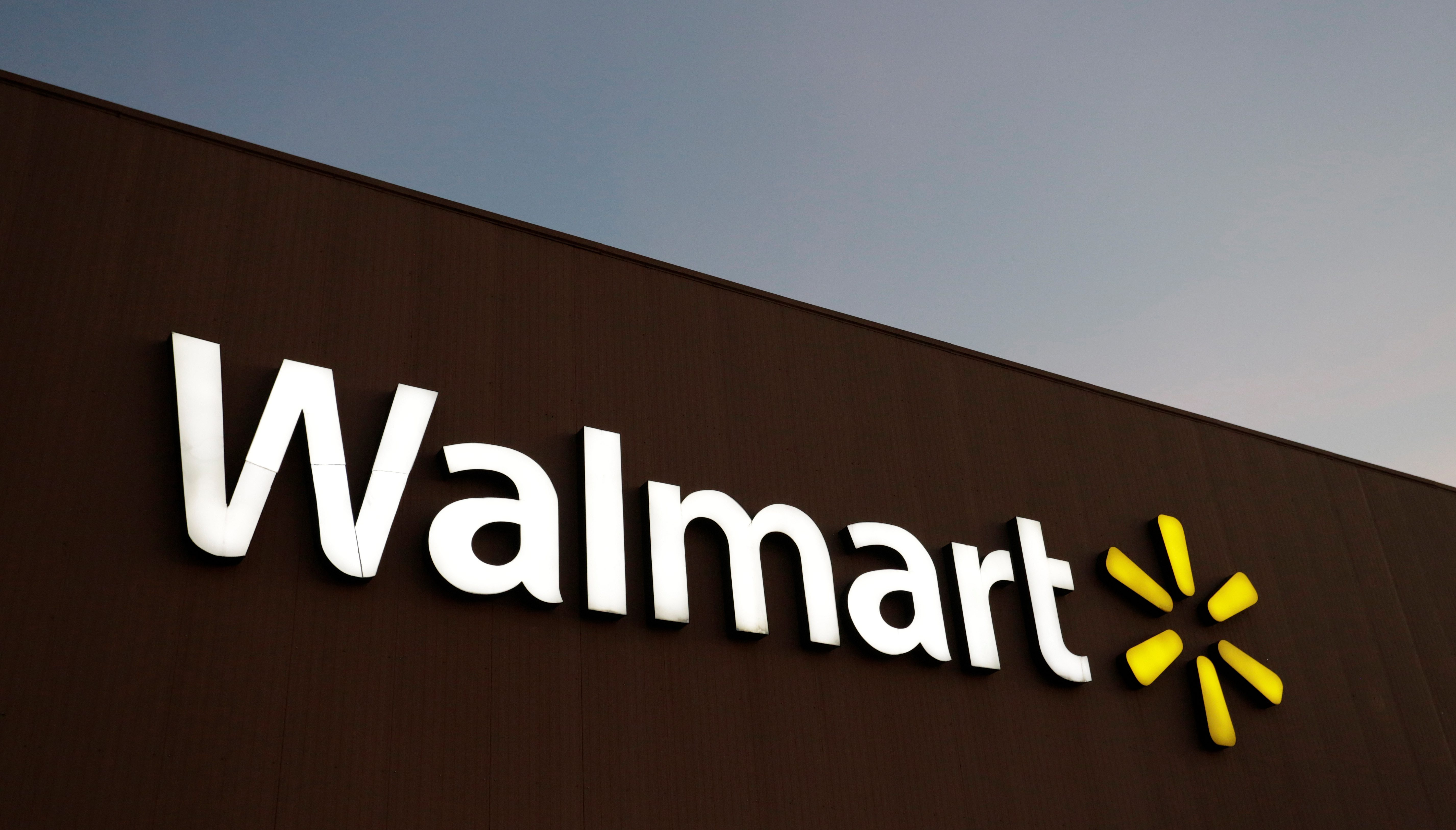 The logo of Walmart is pictured at one of their stores in Monterrey, Mexico March 6, 2017. Picture taken March 6, 2017. REUTERS/Daniel Becerril - RC1FE643C9C0