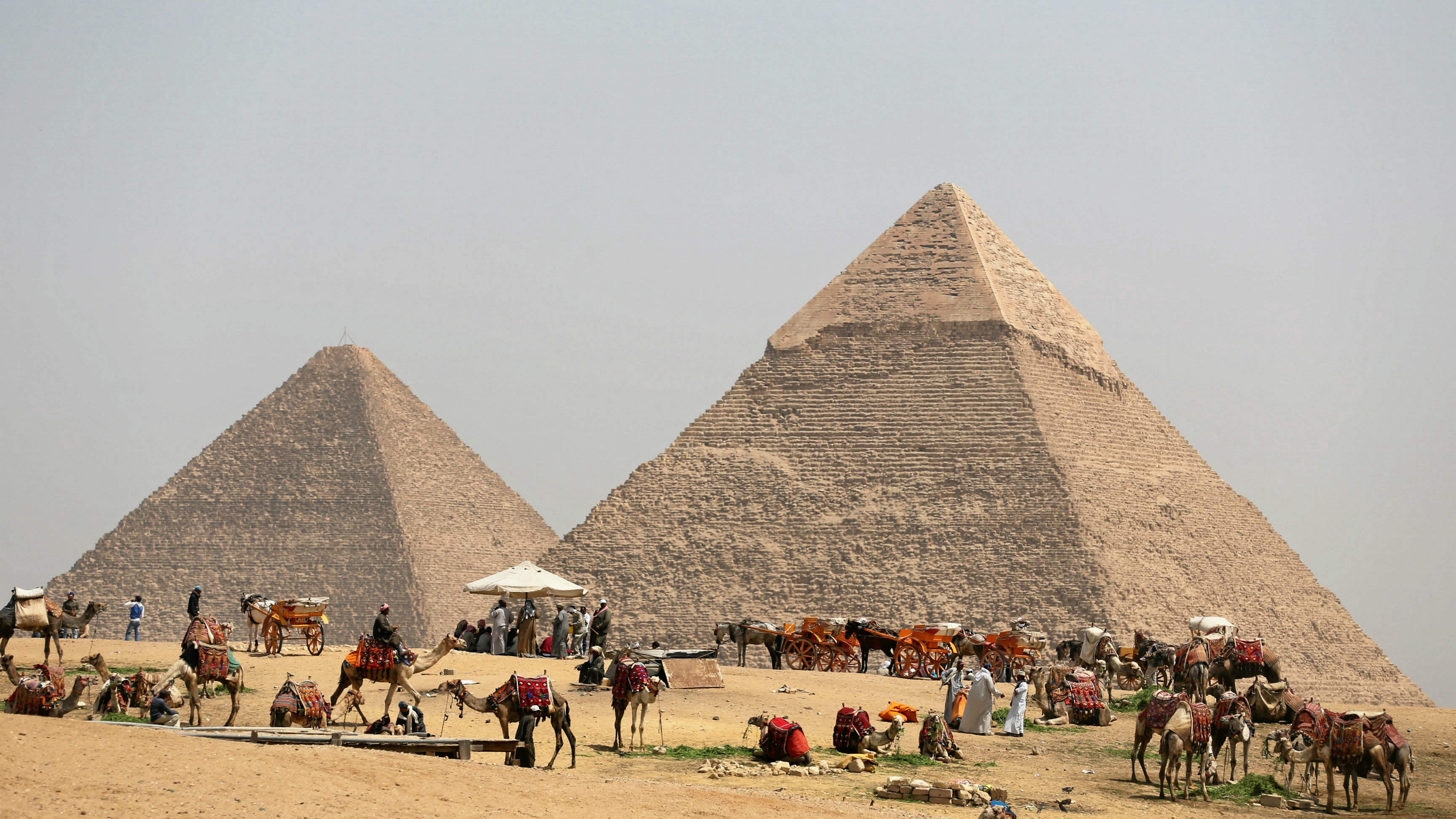 The Great Pyramid of Giza has a secret chamber hidden inside