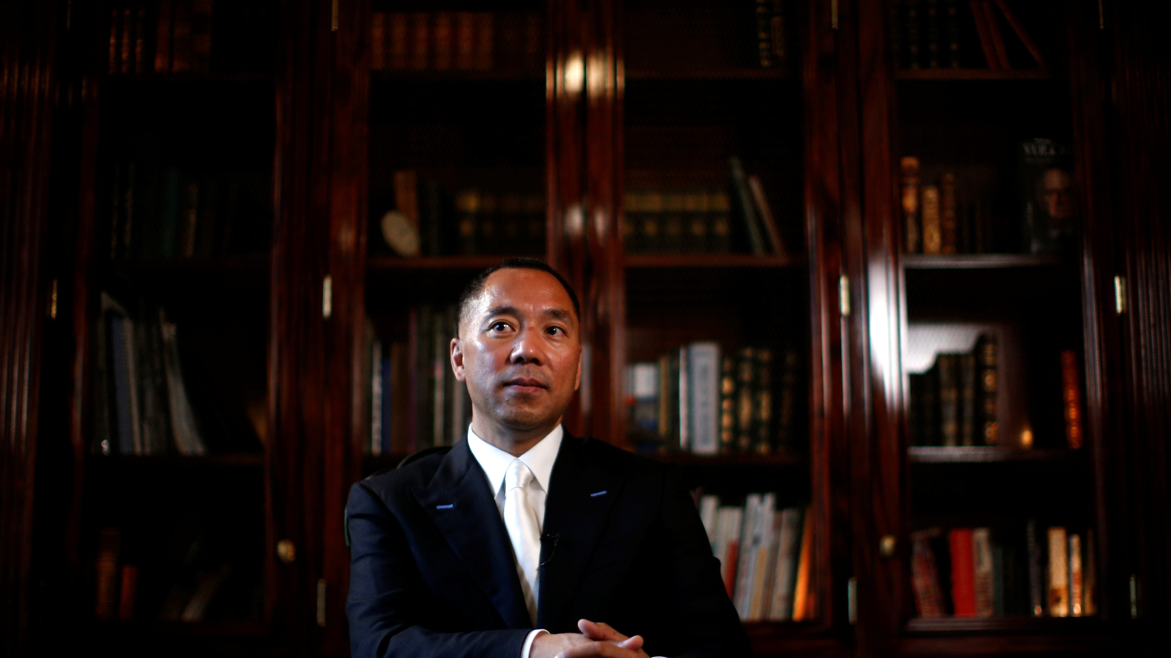 Facebook blocked dissident Guo Wengui after the Chinese