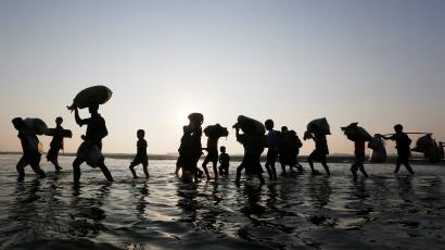 At least 200 million people will be displaced by climate change by 2050.