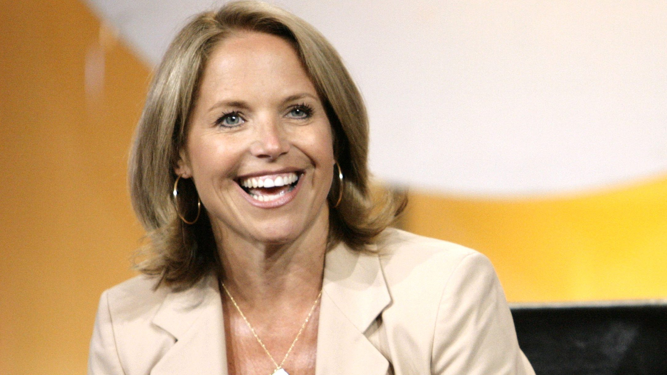 News anchor Katie Couric