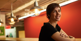Joelle Pineau leads Facebook's Montreal AI lab, and is a professor at McGill University.