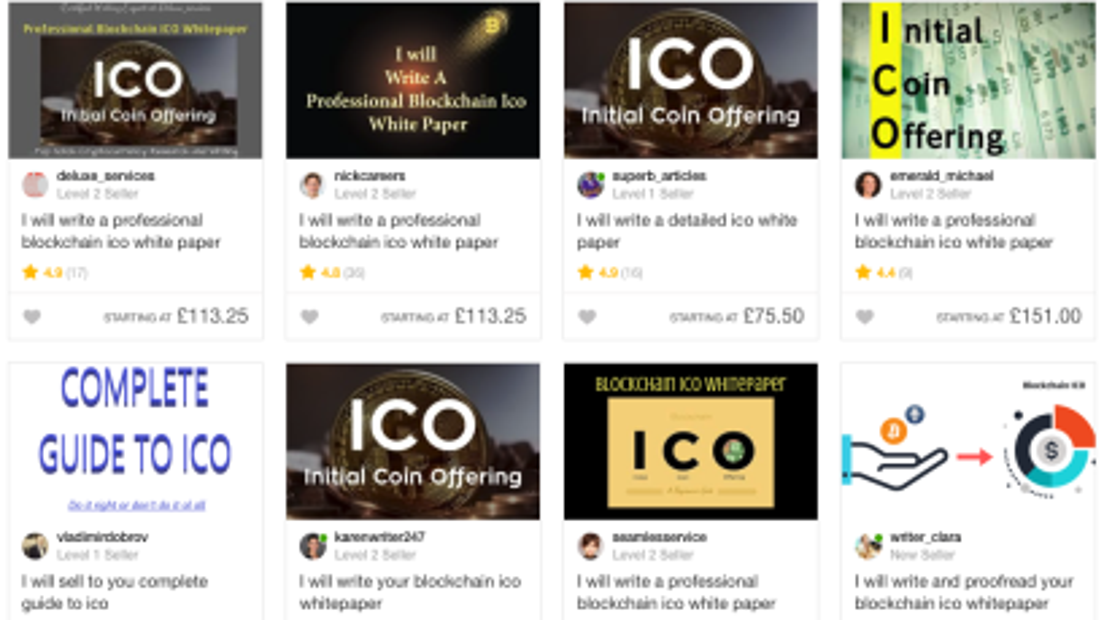 Fiverr ICO Whitepaper