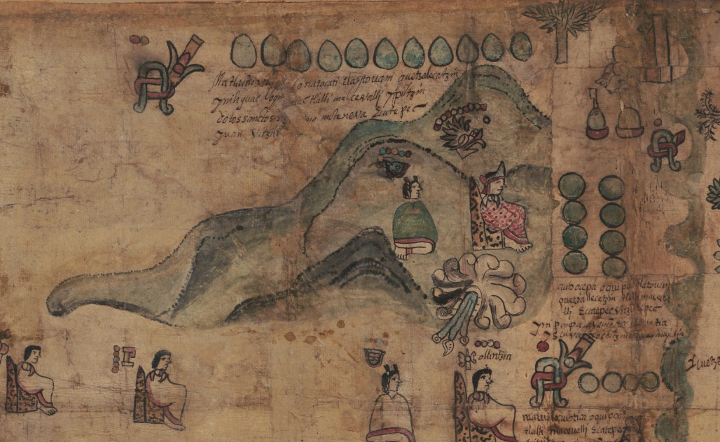 A 400-year-old Mesoamerican map of Spanish colonization is now online for all to see
