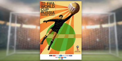 """Russia's 2018 World Cup poster is laden with """"great power"""" symbolism."""