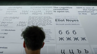 IBM Plex: With its first-ever custom corporate font, IBM is freeing
