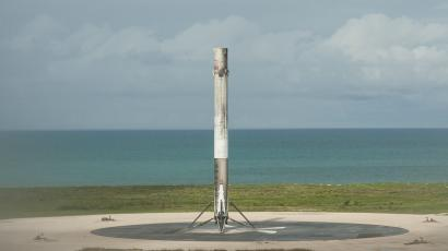 This rocket will head back to the International Space Station in December.