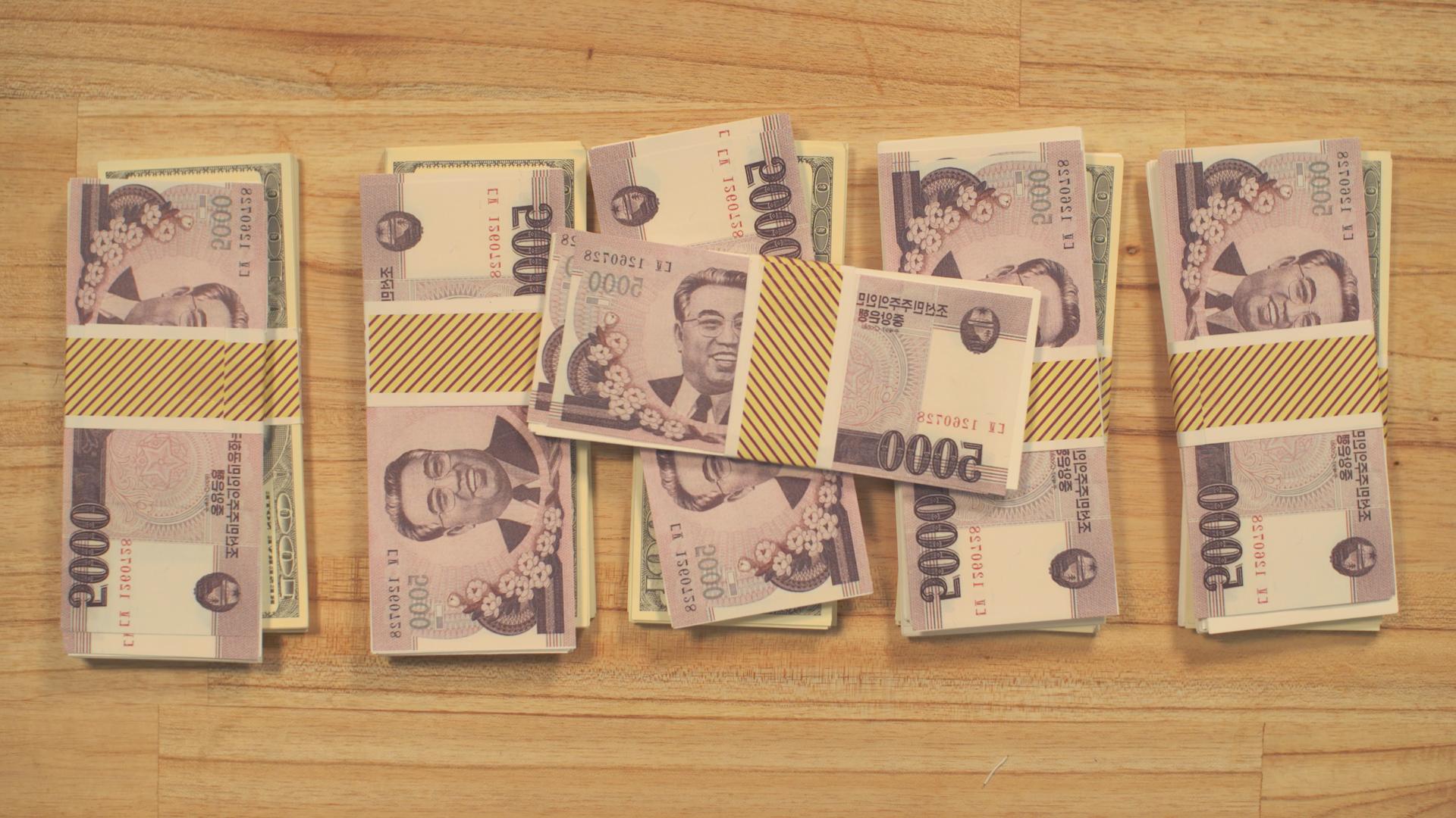 North Korean Cash