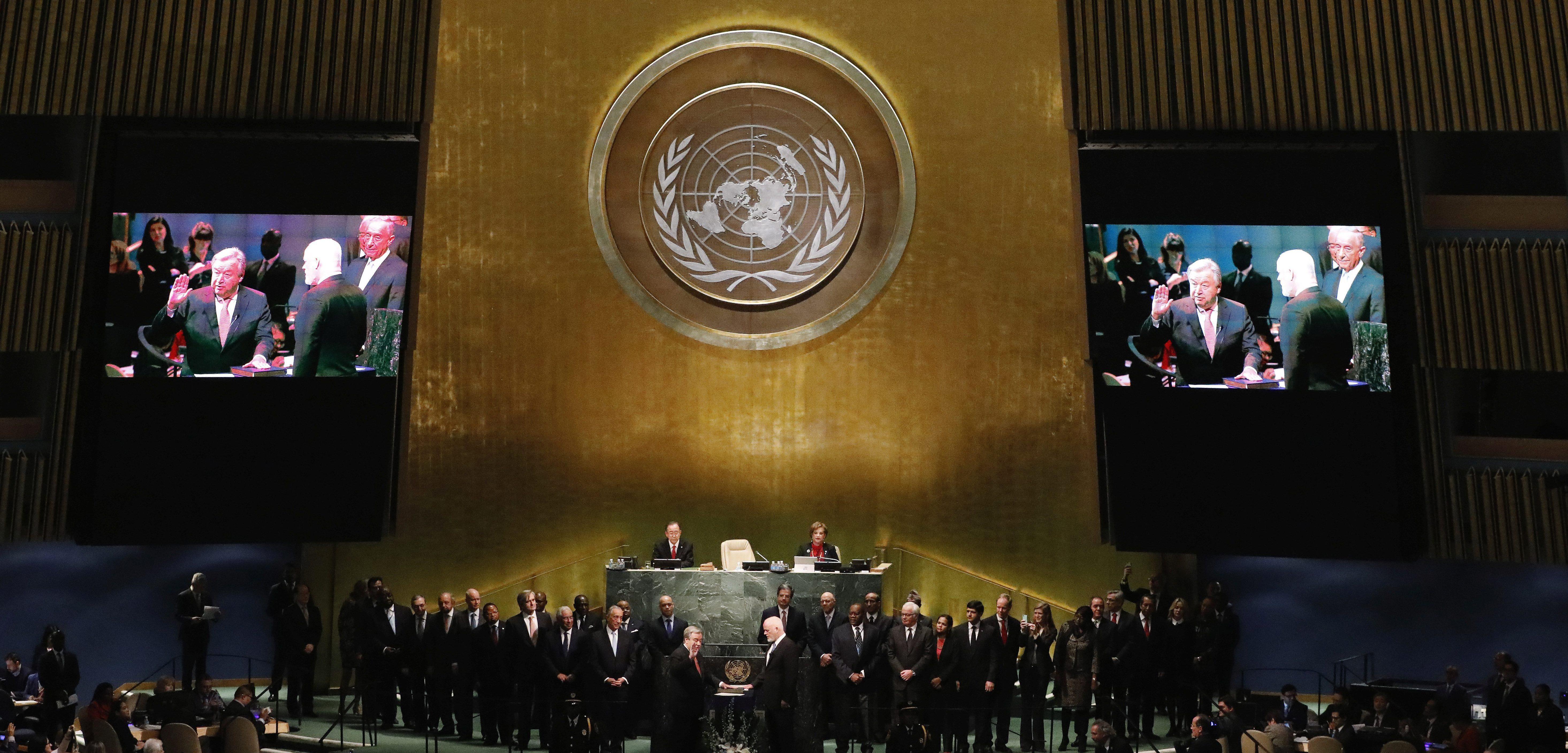 UN headquarters in NY