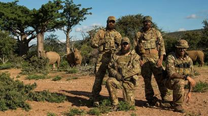 Western Soldiers Are Fighting A New War In Africaagainst Poachers - Us-military-vet