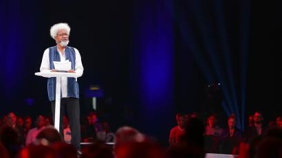 Wole Soyinka speaks on the role of technology, creativity and warns of fake news and political power