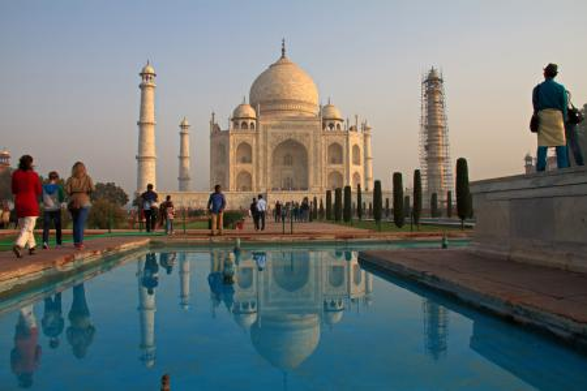 Reflections of Love - Taj Mahal of India by Chandana Witharanage