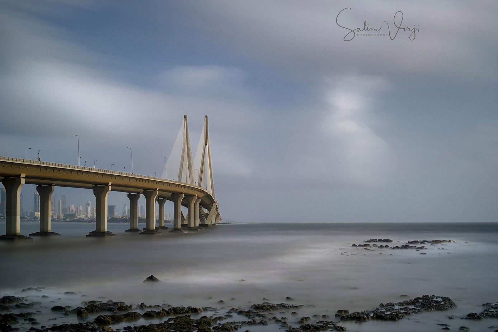 Bandra-Worli Sealink by Sal Virji