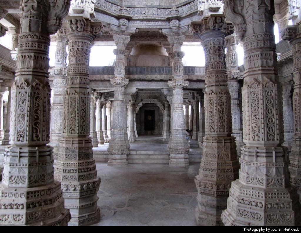 Jain Temple, Ranakpur India by Jochen Hertweck