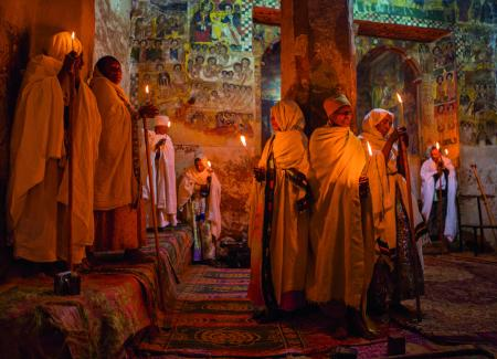 Ethiopia uses a thirteen-month calendar that dates from the Annunciation of Jesus, with the New Year falling on 11 September.