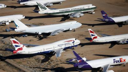 airplanes in retirement