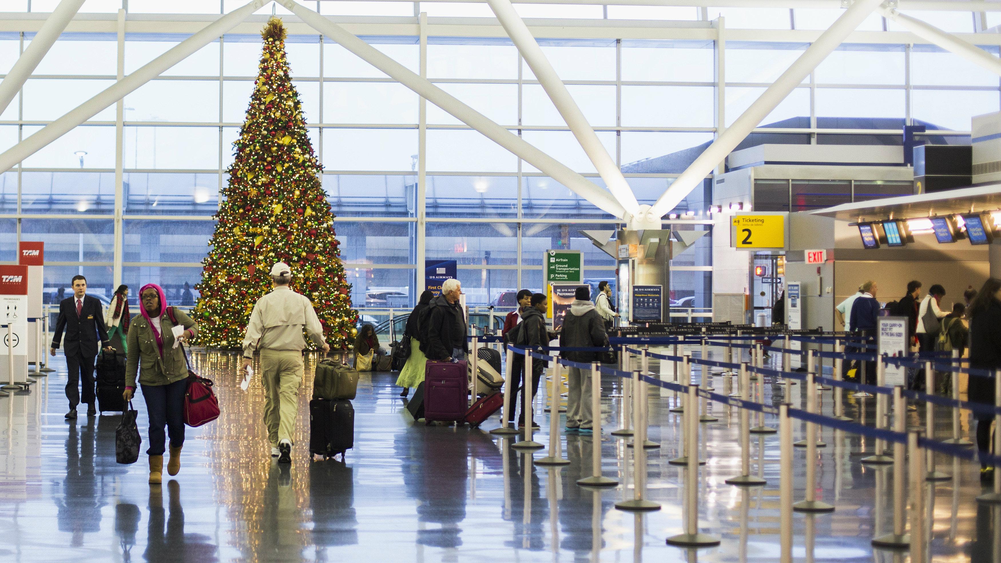Christmas tree travel