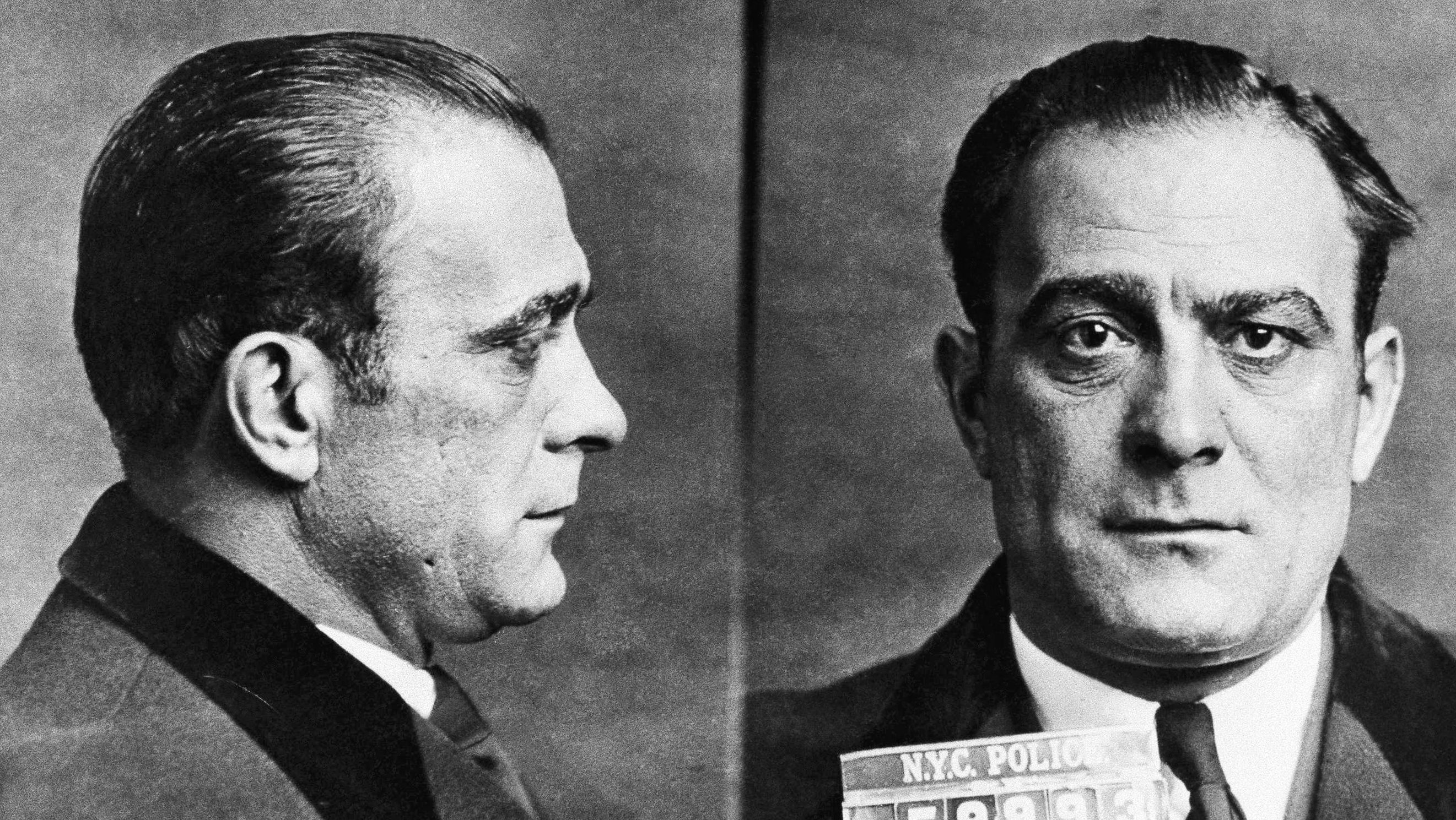 Reputed mobster Vito Genovese is shown in a police mugshot, 1946. (AP Photo)