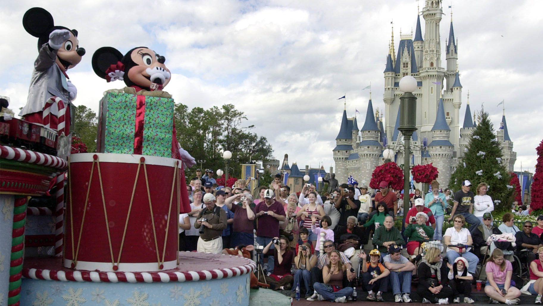 Floria China Disney Parks Glance