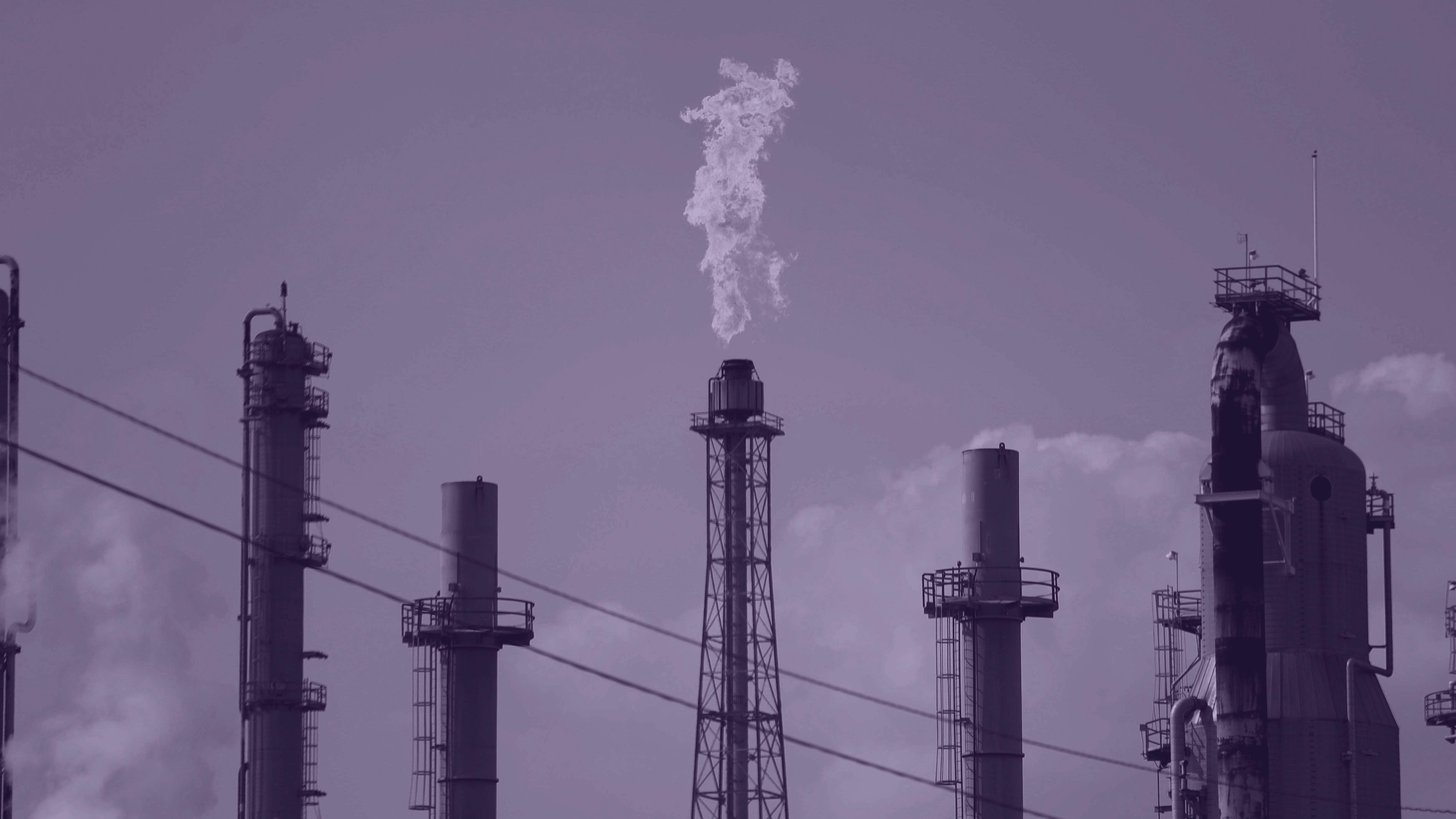 Shell Deer Park oil refinery in Deer Park, Texas