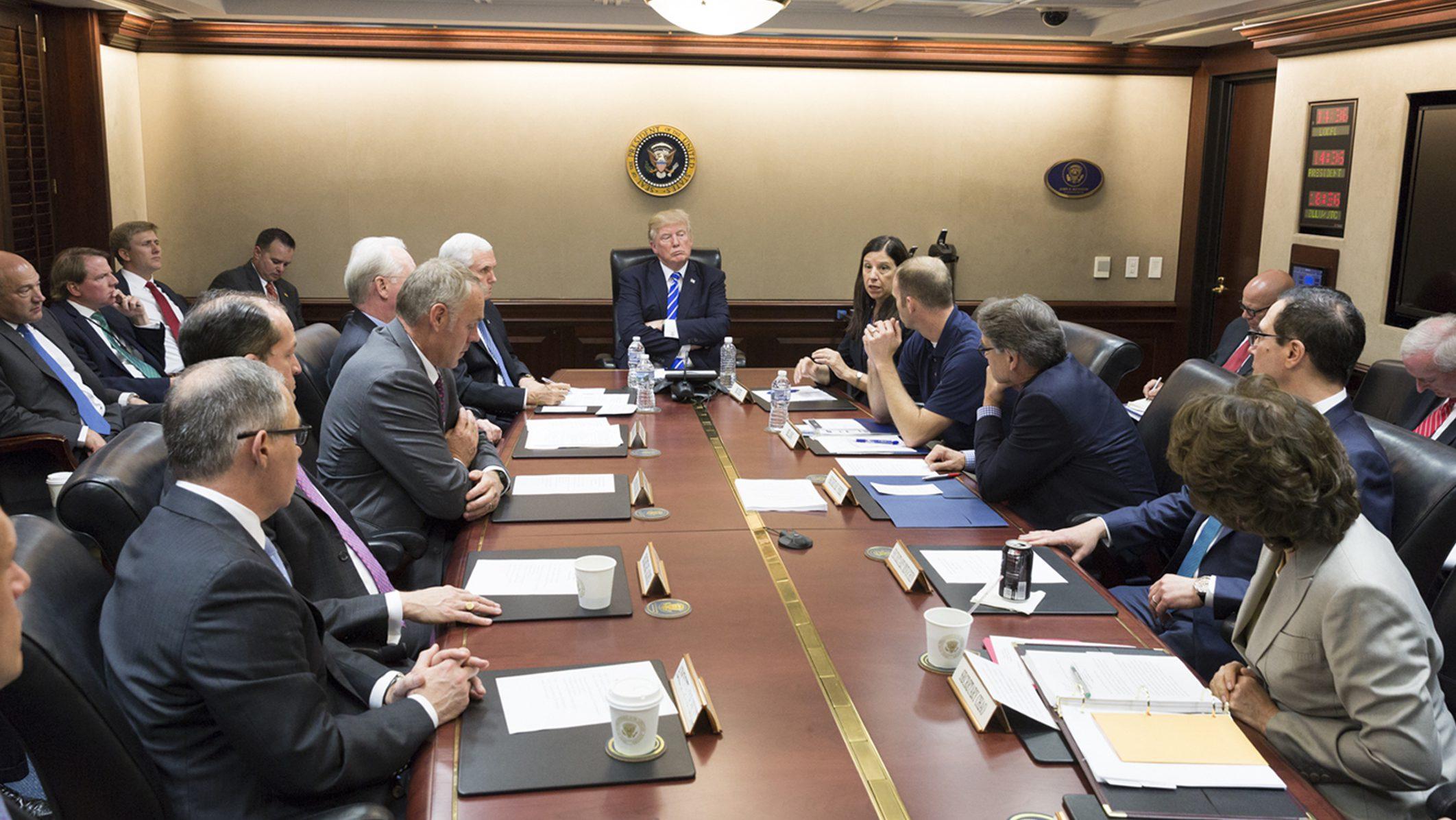 Donald Trump Situation Room