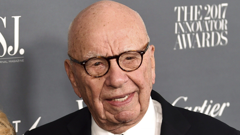 Rupert Murdoch attends the WSJ. Magazine 2017 Innovator Awards at The Museum of Modern Art on Wednesday, Nov. 1, 2017, in New York.