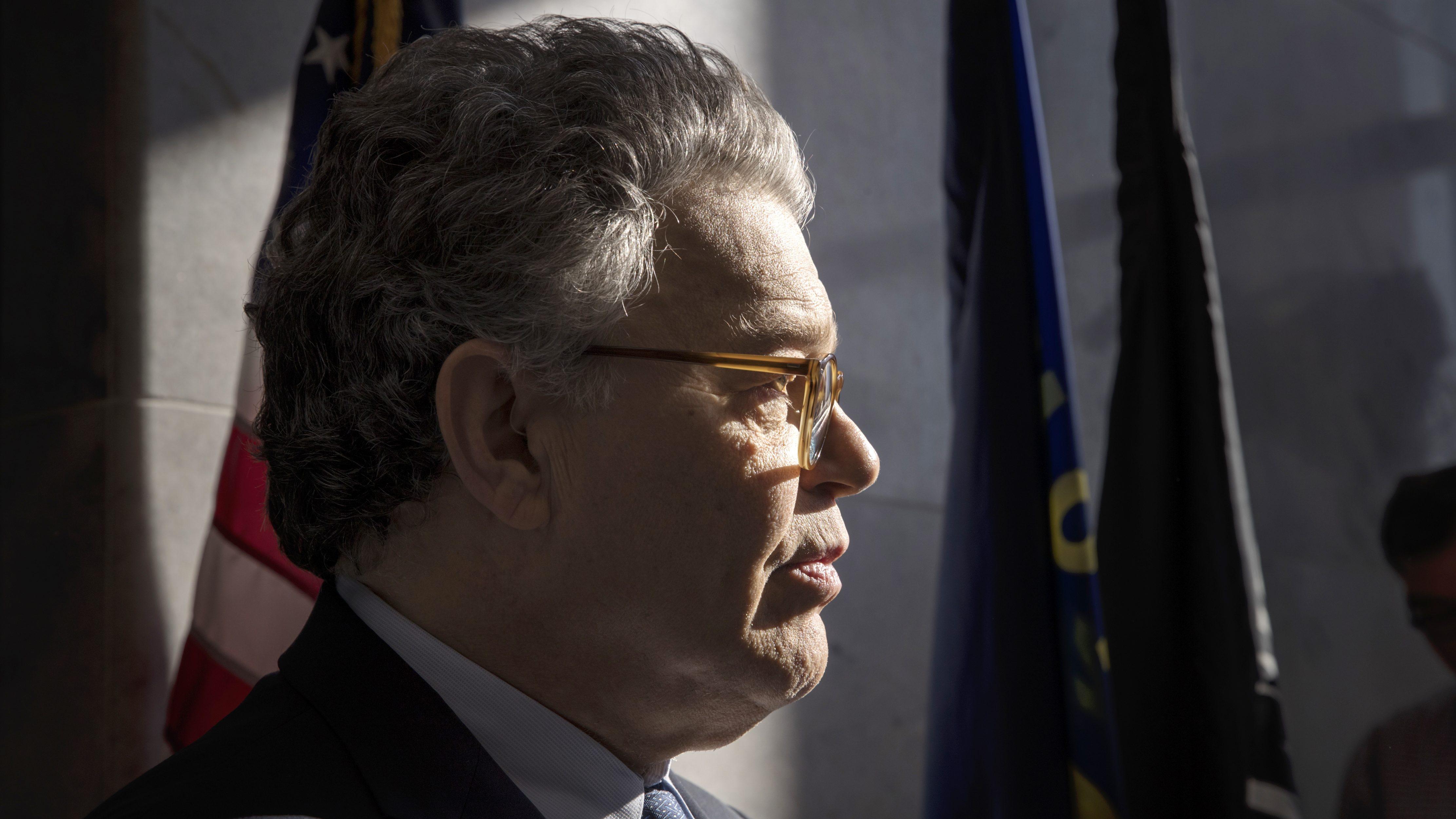 US senators are calling for Al Franken to resign