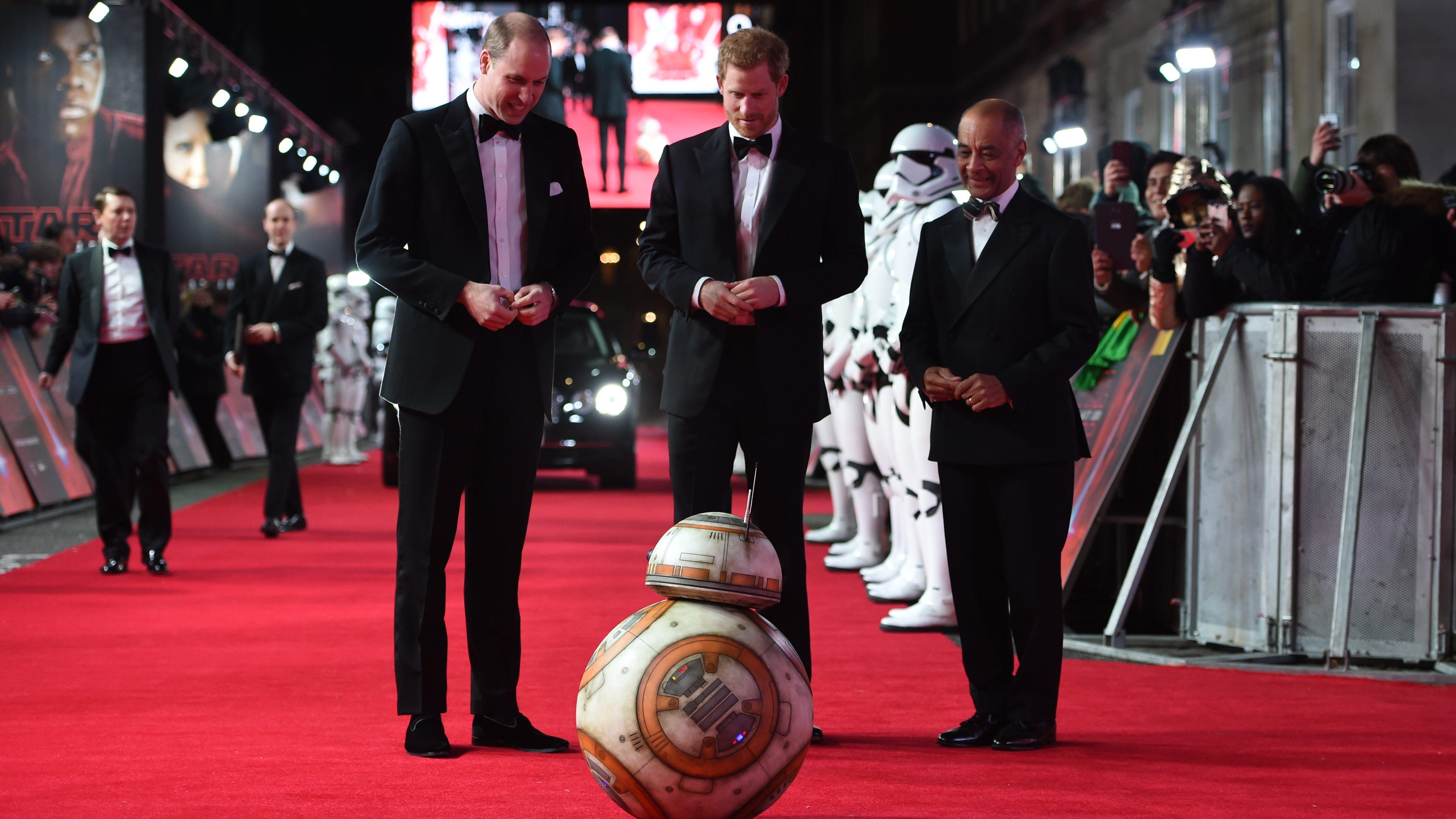 Britain Star Wars The Last Jedi Premiere