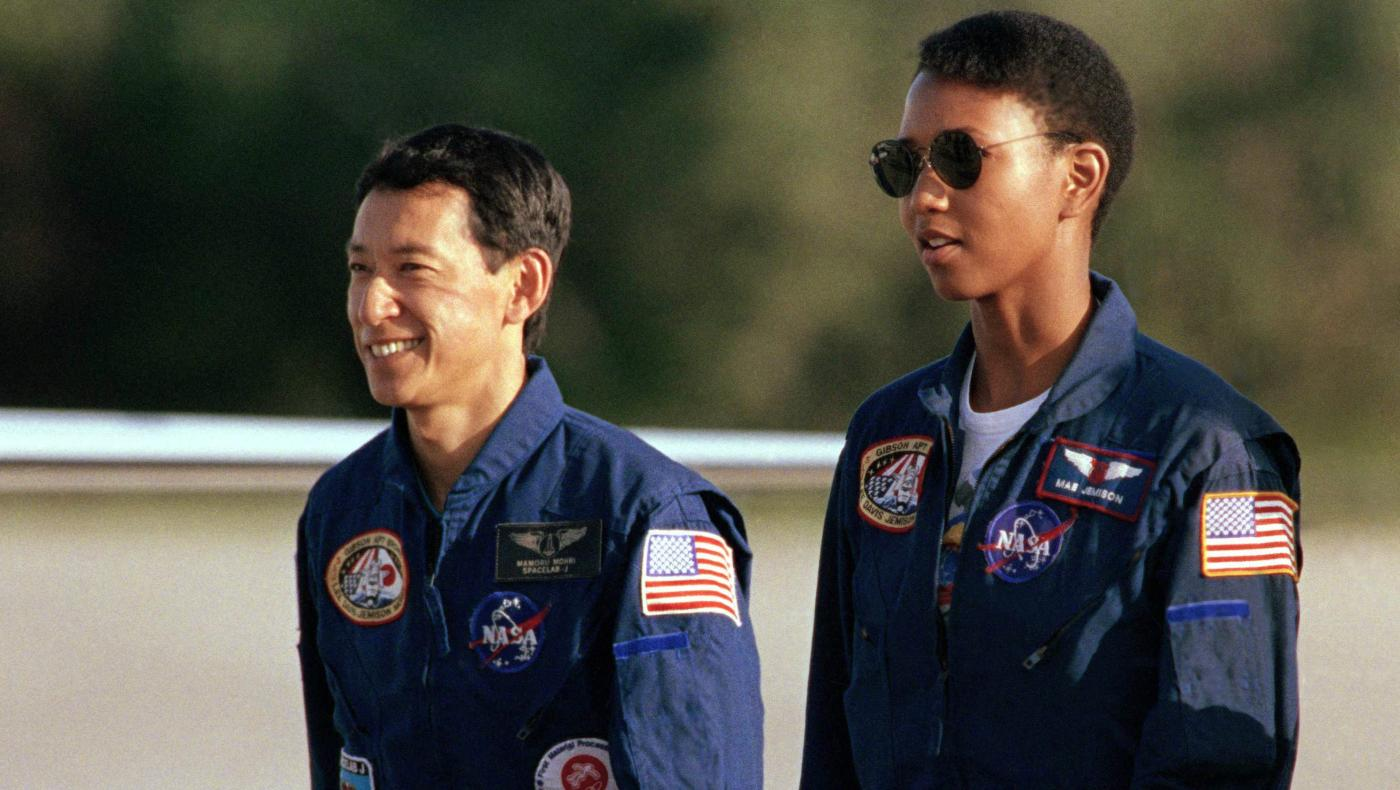 mae jemison pictures in space - HD 1400×787