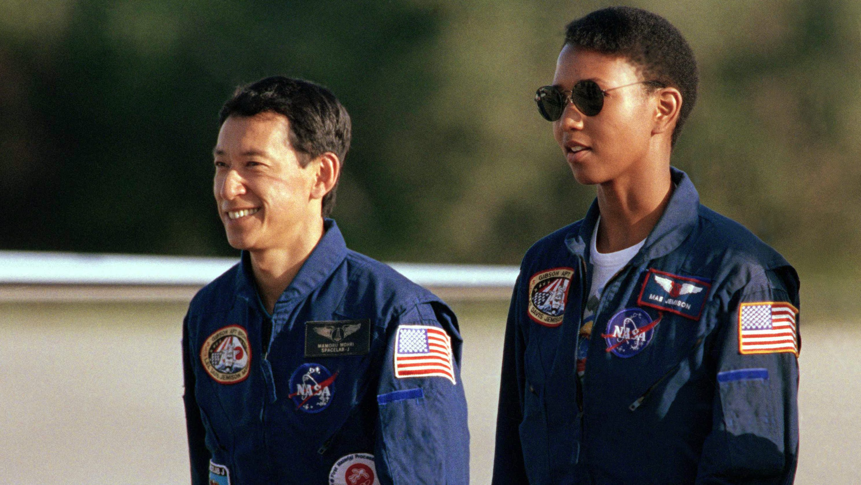 Mae Jemison in 1992, the year she flew to space. Now she wants us to go way farther out.