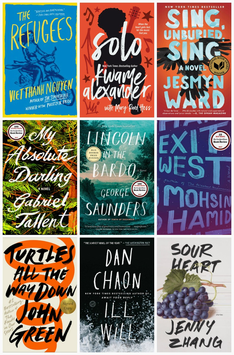 Book Cover Collage Quest : Amazon identified trends in book covers — quartzy