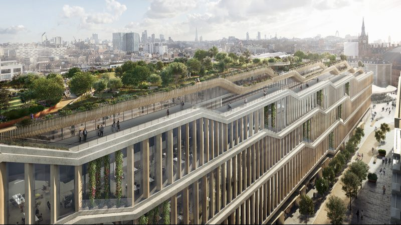 Plans for Google's London headquarters