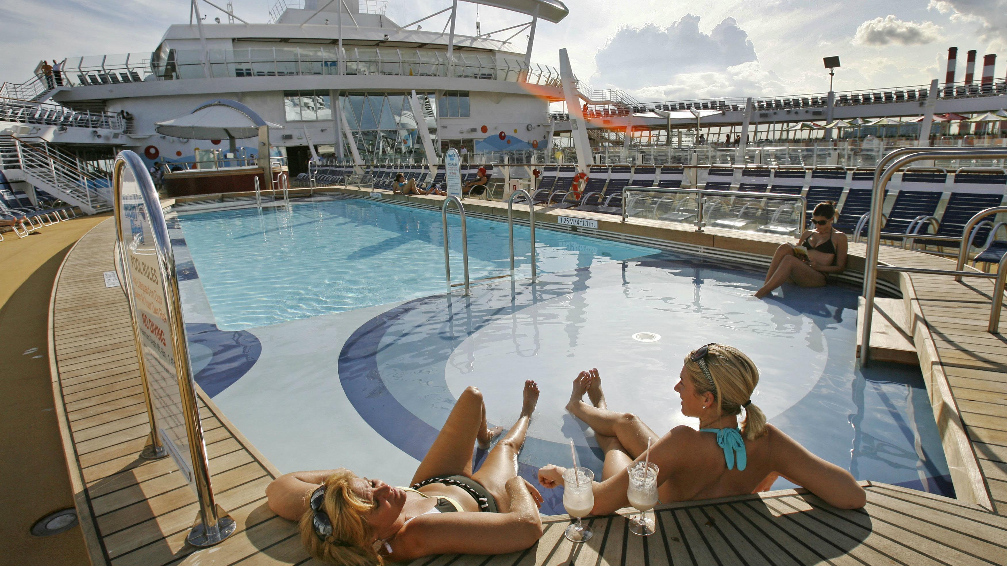 Royal Caribbean pool