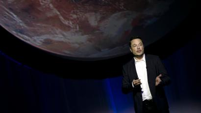 FILE - In this Sept. 27, 2016, file photo, SpaceX founder Elon Musk speaks during the 67th International Astronautical Congress in Guadalajara, Mexico. Musk elaborated on his plans to colonize Mars in a Reddit session Sunday, Oct. 23, 2016.