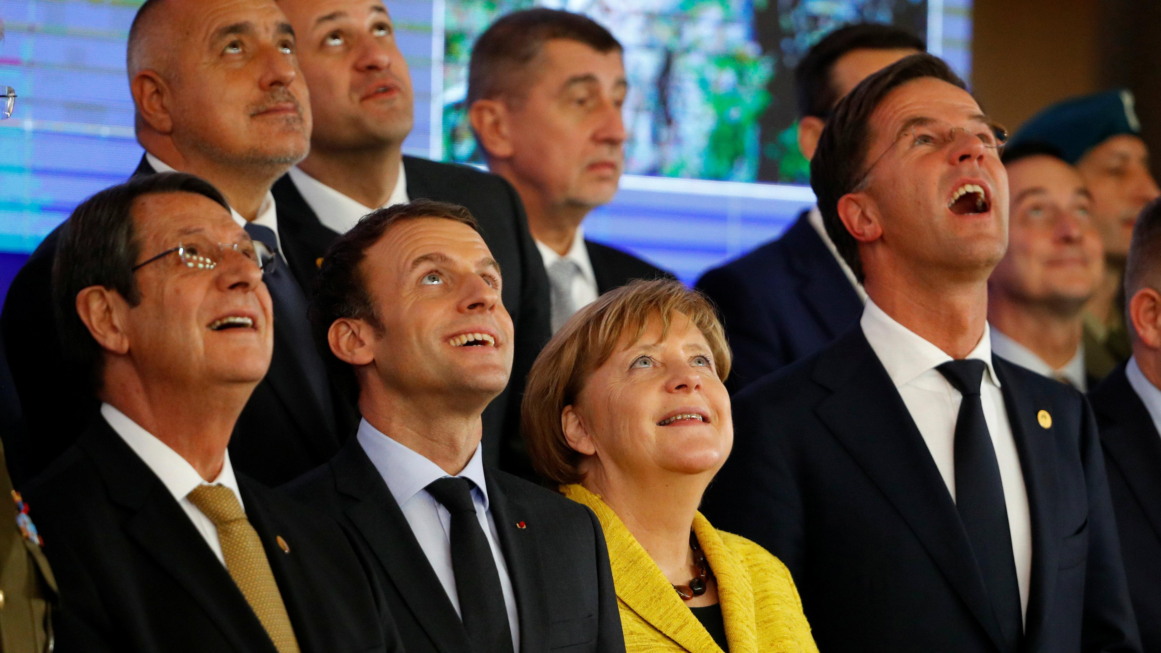 EU leaders at December summit in Brussels